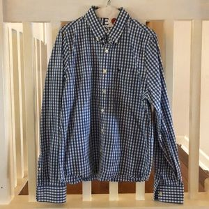 Men's button down long sleeve shirt